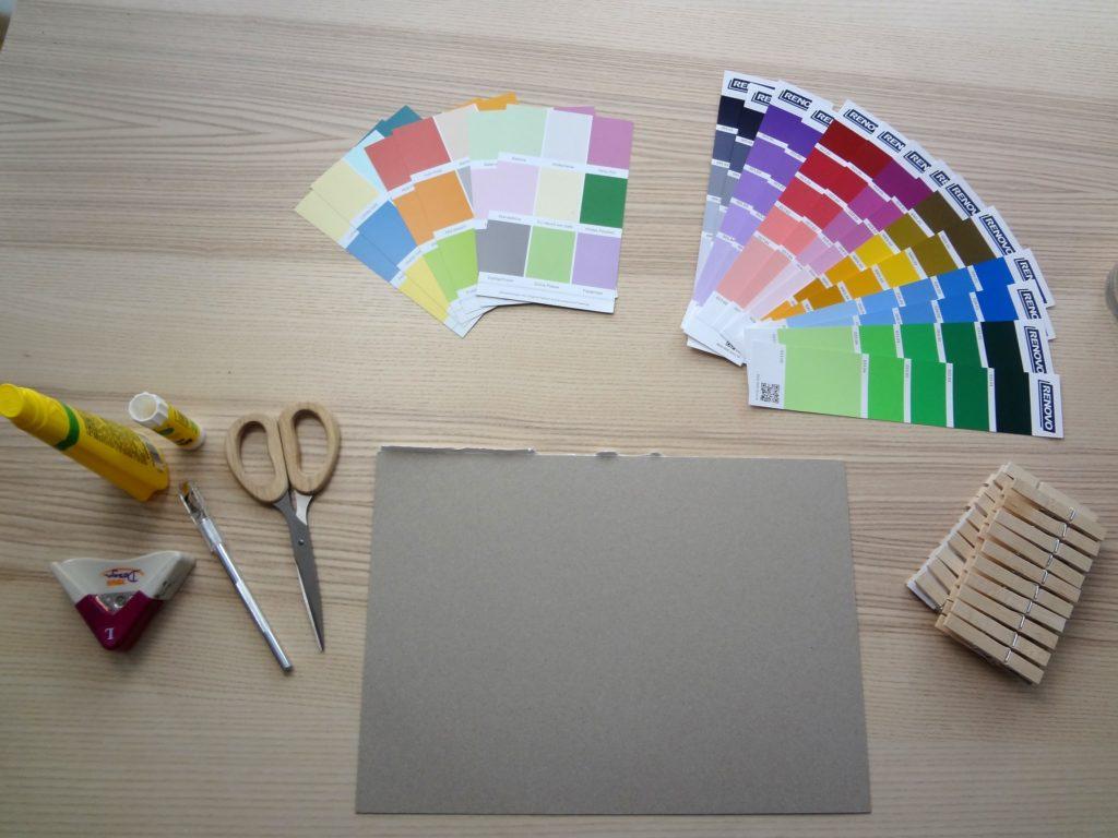 DSC08271 1024x768 - Spielen, fördern, forschen: Farbpaare finden nach Montessori