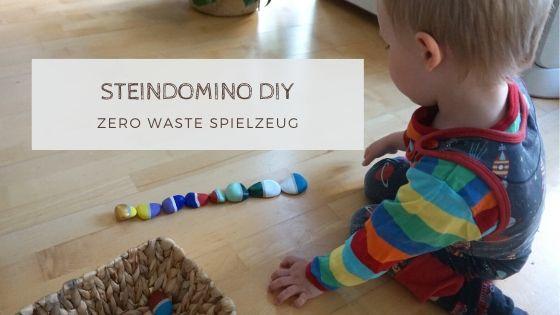 domino - Basteln und Spielen mit Naturmaterialien - ein Domino aus Steinen