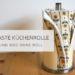 küchenrolle 75x75 - Blütenanhänger aus Salzteig DIY