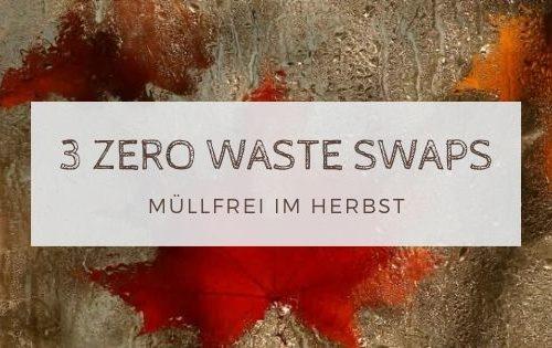 3 zero waste swaps 2 500x315 - Müllfrei im Herbst