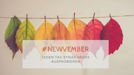 Newvember banner - Willkommen im Newvember